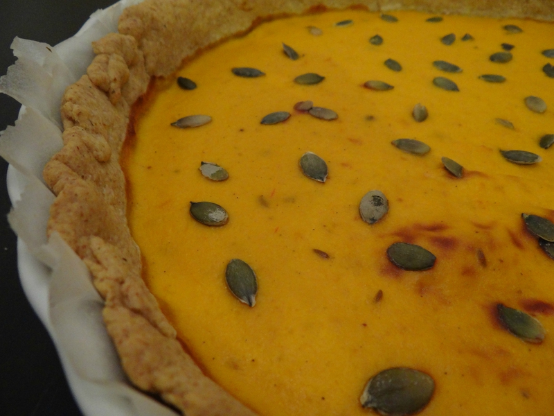 Fleanette's Kitchen - Tarte au Potimarron