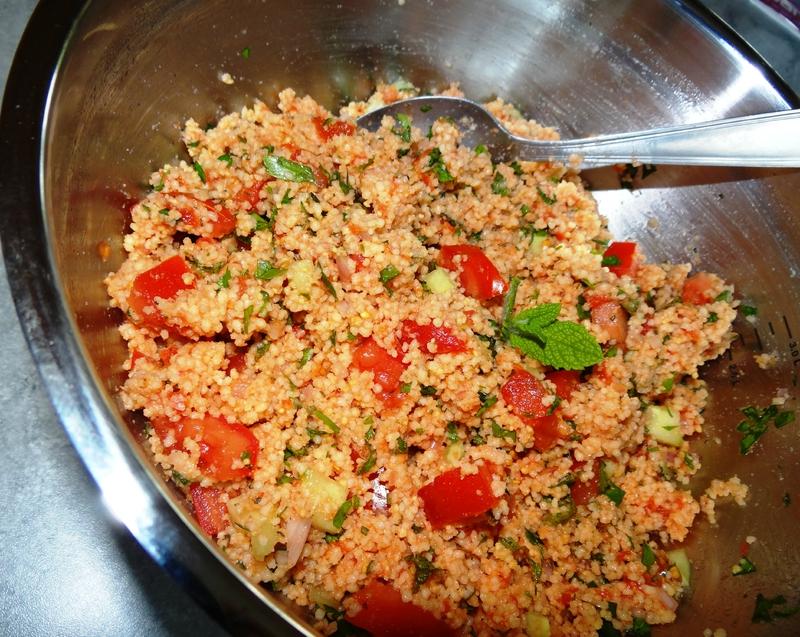 Taboulé tomate et herbes fraiches - Fleanette's Kitchen