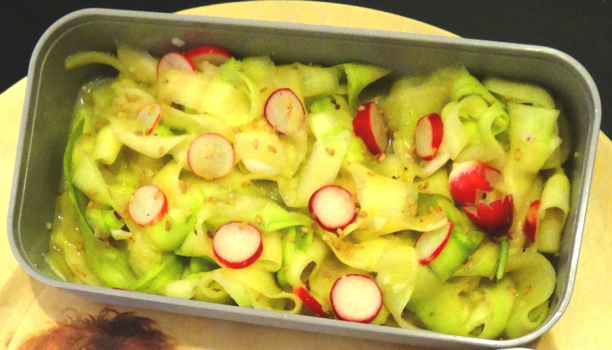 Tagliatelles de courgette crue - Fleanette's Kitchen