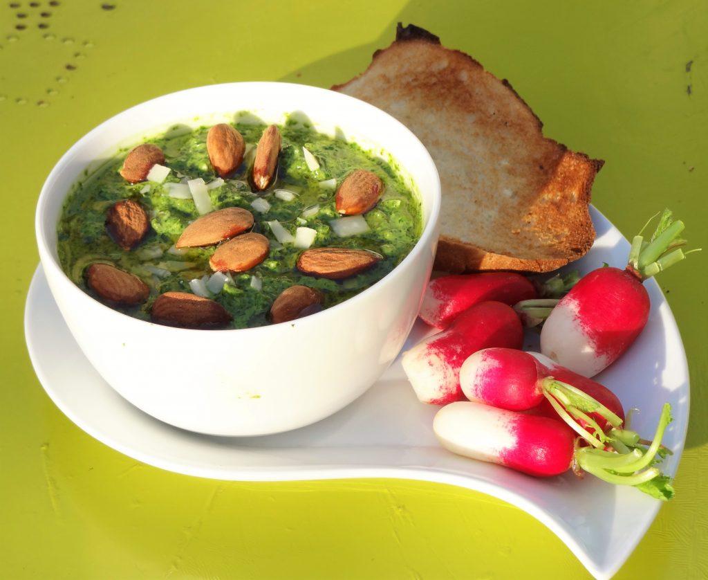 Pesto de fanes de radis - Fleanette's Kitchen