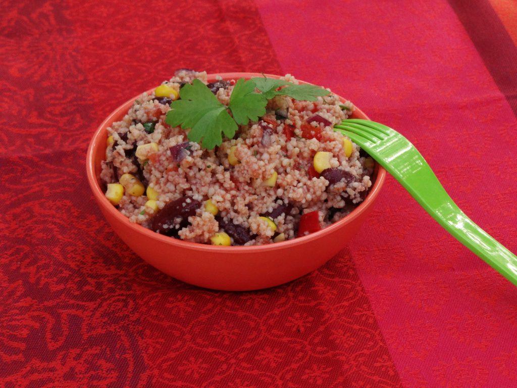 Taboulé revisité façon mexicaine - Fleanette's Kitchen