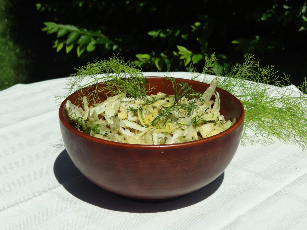 Salade de fenouil et pomme - Fleanette's Kitchen