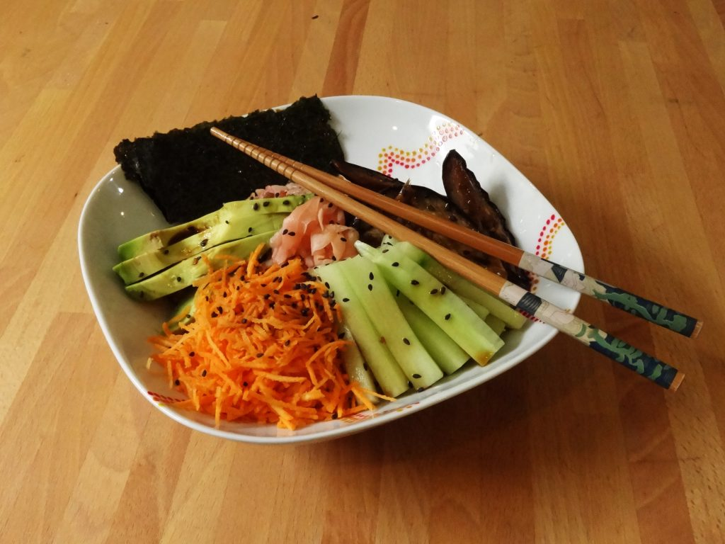 Sushi Bowl - Fleanette's Kitchen
