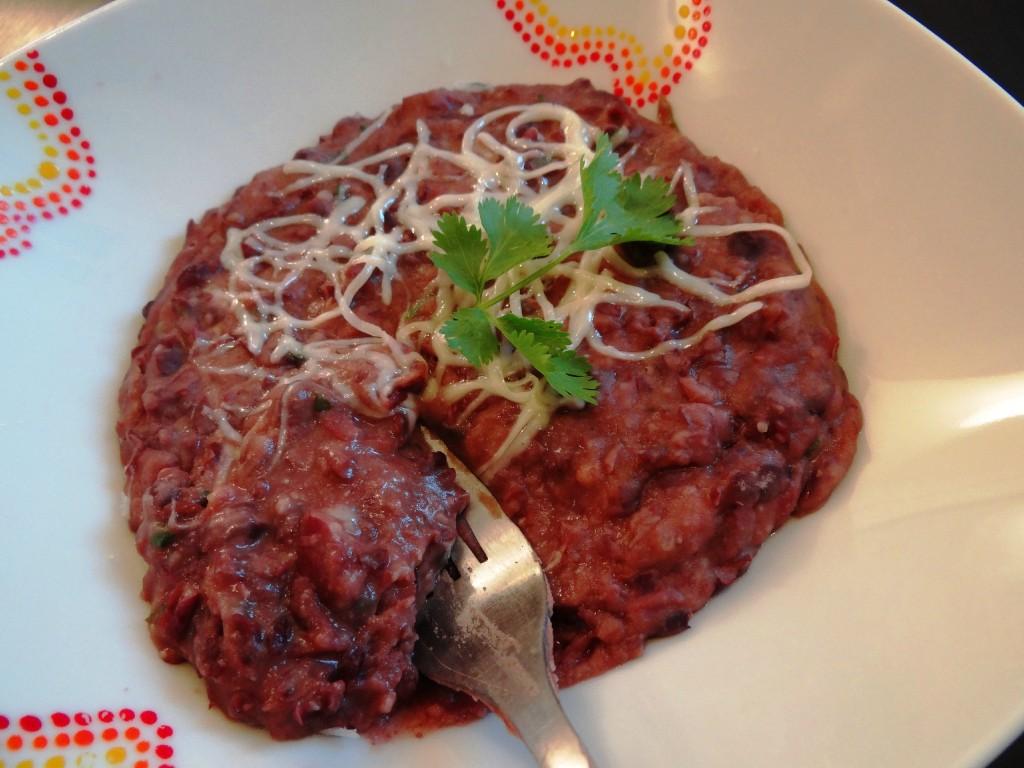 Refried beans (purée de haricots rouges) - Fleanette's Kitchen