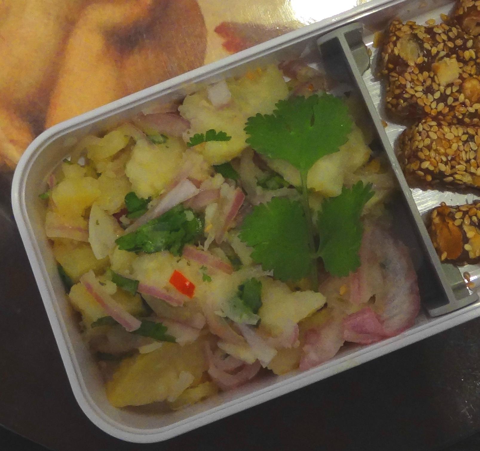 Ceviche de patate douce ou de manioc - Fleanette's Kitchen