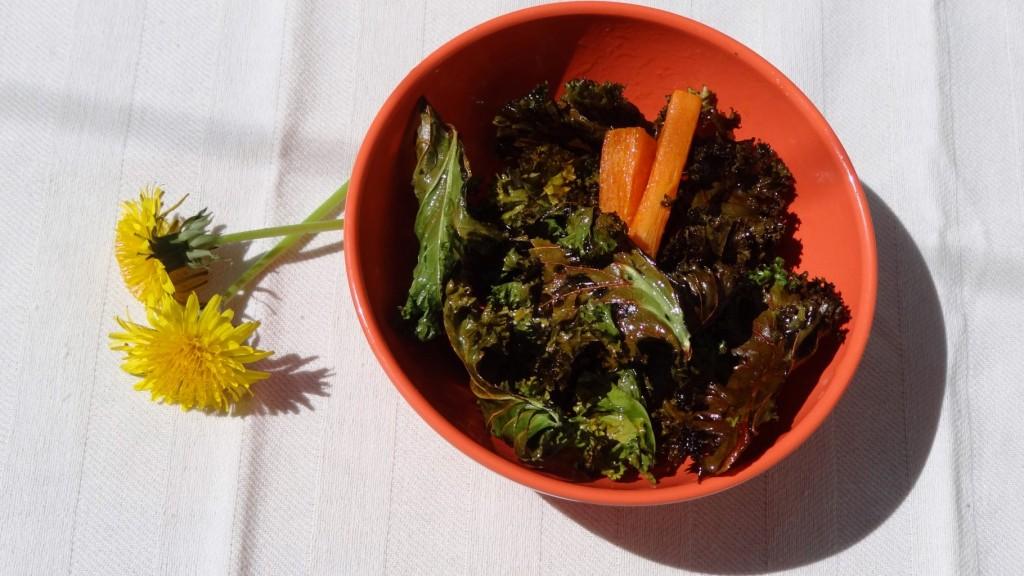 Chips de Kale - Fleanette's Kitchen