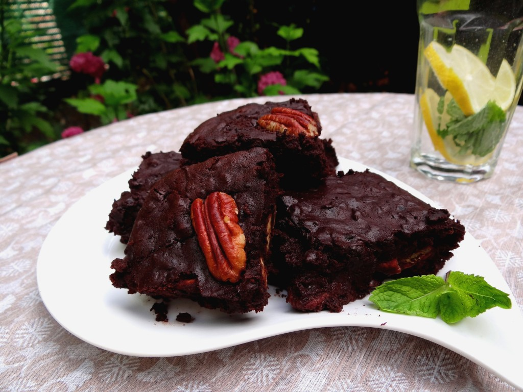 Brownie aux haricots azukis - Fleanette's Kitchen