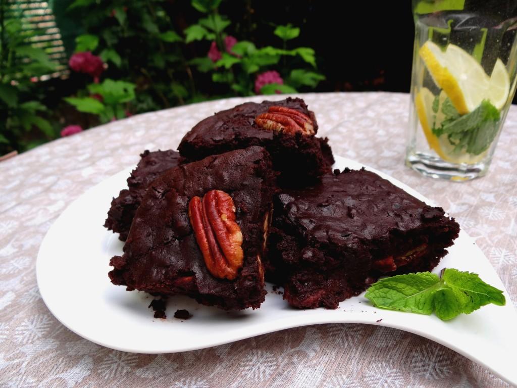 Brownie aux haricots azukis - Fleanette's Kitchen